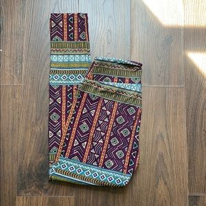 LuLaRoe Pants - Tribal print leggings